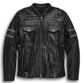ハーレーダビッドソン Harley Davidson メンズ レザー ジャケットMen's H-D Triple Vent System Wick Twister Leather Jacket革ジャン 新作 ハーレー純正 正規品 アメリカ買付 USA直輸入 通販