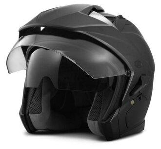 哈雷 · 大衛森哈雷頭盔哈雷-大衛森男人本質太陽盾 3/4 頭盔啞光黑新哈雷-大衛森股票真正美國購買美國進口從存儲區