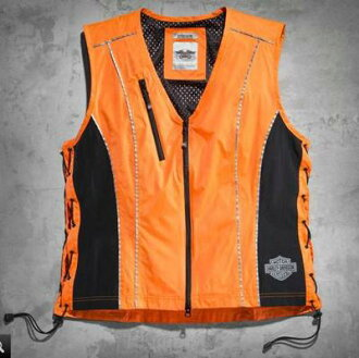 Harley-Davidson Harley Davidson ladies best Harley-Davidson Women's Hi-Vis Vest Harley stock genuine American purchase USA imported from store