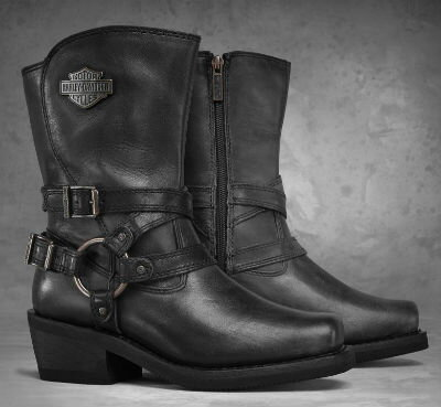 ハーレーダビッドソン Harley Davidson レディース ブーツWomen's Ingleside Performance Boots スモーク新作 ハーレー純正 正規品 アメリカ買付 USA直輸入 通販