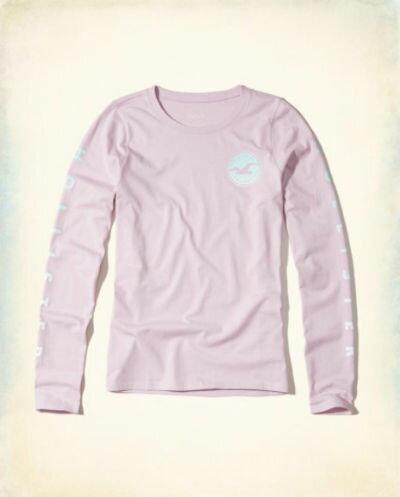 ホリスター レディース ロングTシャツ正規品 アメリカ買付 USA直輸入