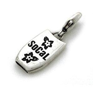【SoCaL925】ソーカル925 ハンドメイド・アメリカン・シルバーホイッスルジュエリー ボディボードチャーム BB4