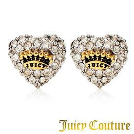 ジューシークチュール Juicy Couture ピアスPave Heart Stud Earrings パヴェ ハート スタッズ ピアス(ゴールド)★ 正規品 日本未入荷 アメリカ買付