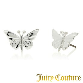 ジューシークチュール JUICY COUTURE ピアスButterfly Studs Earrings バタフライ スタッズ ピアス(シルバー)★ 正規品 日本未入荷 アメリカ買付