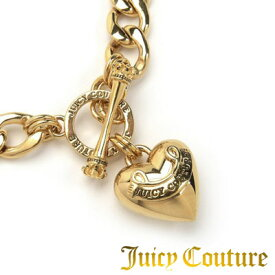 ジューシークチュール JUICY COUTURE ネックレスBANNER HEART STARTER NECKLACE(Gold)バナー ハート スターター ネックレス(ゴールド)● 新作 日本未入荷 アメリカ買付 USA直輸入 通販
