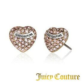 ジューシークチュール Juicy Couture ピアスPave Heart Stud Earrings パヴェハート ピアス(ピンク)★ 新作 正規品 日本未入荷 アメリカ買付 USA直輸入  通販