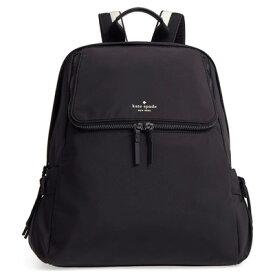 ケイトスペード バックパック Kate Spade pxru8857thats the spirit backpack (Black) ナイロン バックパック/リュック (ブラック) ● 新作 正規品 アメリカ買付 レディース バッグ リュックサック 無地 ジムバッグ ヨガバッグ
