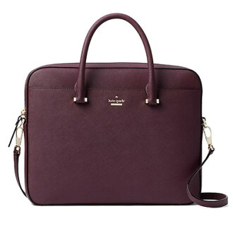 케이트 스페이드 PC케이스/가방 Kate Spade 8 aru1441 13 inch saffiano bag/saffiano leather laptop bag 13 Inch (mahogany) 사피아노레자랍툽밧그 13 인치(마호가니) 신작 정규품 미국 구매 레이디스 가방 숄더백 PC 가방