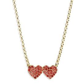 ケイトスペード ネックレス Kate Spade wbruf346yours truly pave heart mini pendant (red) パヴェ ハート ペンダント ネックレス (レッド) 新作 正規品 アメリカ買付 レディース ジュエリー ギフト ペンダント