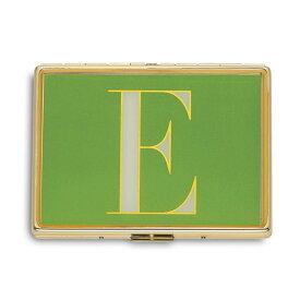 ケイトスペード カードケース Kate Spade It's Personal ID Holder (E) イニシャル IDホルダー (E) 新作 正規品 アメリカ買付 レディース 財布 カードホルダー 名刺入れ ケース アルファベット