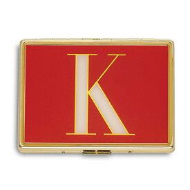 ケイトスペード カードケース Kate Spade It's Personal ID Holder (K) イニシャル IDホルダー (K) 新作 正規品 アメリカ買付 レディース 財布 カードホルダー 名刺入れ ケース アルファベット