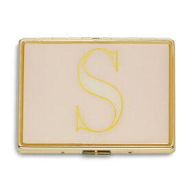 ケイトスペード カードケース Kate Spade It's Personal ID Holder (S) イニシャル IDホルダー (S) 新作 正規品 アメリカ買付 レディース 財布 カードホルダー 名刺入れ ケース アルファベット