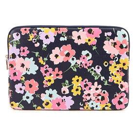 ケイトスペード ノートパソコンケース Kate Spade Wildflower Bouquet Universal Laptop Case (Navy Multi) ワイルドフラワー ラップトップケース (ネイビーマルチ) 新作 正規品 アメリカ買付 レディース バッグ PCケース ラップトップケース 花柄