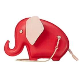 ケイトスペード クロスボディ PXRUB056 Kate Spade tiny elephant crossbody (Red) タイニー エレファント クロスボディ (レッド) ★ 新作 正規品 アメリカ買付 クラッチバッグ ゾウ