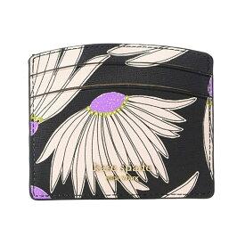 ケイトスペード カードケース Kate Spade pwru7949spencer falling flower cardholder (Black/Multi) フラワー カードホルダー(ブラック/マルチ)Spencer Grand Daisy Card Holder