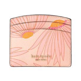 ケイトスペード カードケース Kate Spade pwru7949spencer falling flower cardholder (Pink/Multi) フラワー カードホルダー(ピンク/マルチ)Spencer Grand Daisy Card Holder