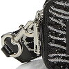 標記雅各布挎包M0010225 MARC JACOBS Zebra With Bow Snapshot Small Camera Bag(BLACK/SILVER)斑馬弓snap shot小照相機包(黑色/銀子)■新作品正規的物品美國購置redisubagguposhietto