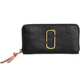 73c18bf4498e マークジェイコブス 長財布 M0013352 MARC JACOBS Snapshot Standard Continental Wallet  (Black/Rose)