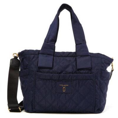 マークジェイコブス マザーズバッグ MARC JACOBS Diamond Quilted Baby Bag (MIDNIGHT BLUE) キルティング ベイビーバッグ (ミッドナイトブルー) 新作 正規品 アメリカ買付 バッグ レディース マザーバッグ ベビーバッグ ショルダーバッグ ママバッグ