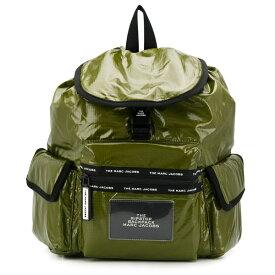 マークジェイコブス バックパック MARC JACOBS M0015145THE RIPSTOP BACKPACK (OLIVE) リップストップ バックパック (オリーブ) 新作 正規品 アメリカ買付 レディース バッグ リュック リュックサック