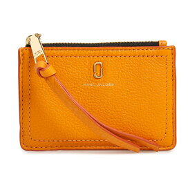 24b14b93f940 マークジェイコブス カードケース/コインケース M0015123 MARC JACOBS The Softshot Top Zip Multi  Wallet (Kumquat) ソフトショット マルチ ウォレット ...