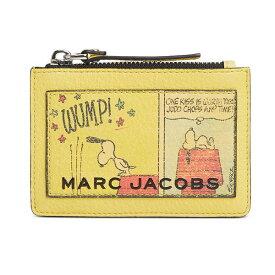 マークジェイコブス カードケース M0015141 MARC JACOBS The Box Peanuts Top Zip Multi Wallet (MULTI) スヌーピー コラボ マルチ 財布 (マルチ) PEANUTS X MARC JACOBS THE BOX TOP-ZIP MULTI WALLET ● 新作 正規品 レディース パスケース キーケース コインケース