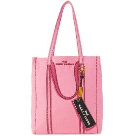 マークジェイコブス トートバッグ MARC JACOBS Tag 31 Tromp l'Oeil Tote Bag (Pink Multi) トロンプルイユ タグ トート (ピンク) Textile Tote Bag 新作 正規品 アメリカ買付 レディース バッグ