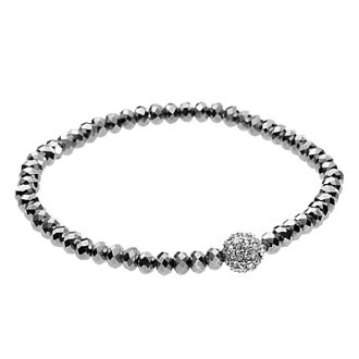 Michael Kors Jewelry Pave Ball Stretch Bracelet Bracelets Silver New Genuine An U S Tender Offer