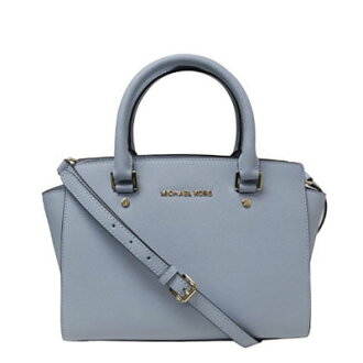 648b495a83e9c5 Michael Kors bag 2-WAY bag Selma Medium Satchel (PALE BLUE) Selma medium  satchel (pale blue/gold) Michael Kors MICHAEL Michael Kors new genuine  American ...