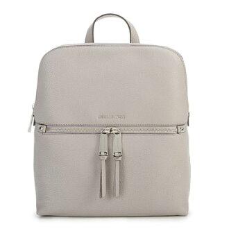 邁克爾邁克爾套餐背包Michael Michael Kors 30H6GEZB2L Rhea Medium Slim Backpack(Pearl Grey)後部媒介纖細背包/帆布背包(珍珠灰)新作品正規的物品女士包帆布背包皮革上學