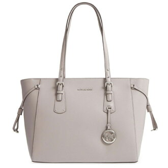 797f002c4a31 Michael Kors tote bag Michael Kors 30H7GV6T8L Voyager Medium Leather Tote  (Pearl Grey) medium leather tote bag (gray) Voyager Multi-Function Top Zip  ...