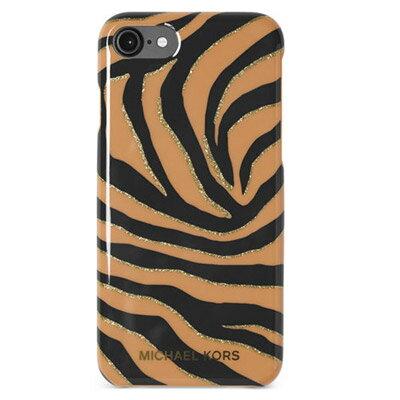 マイケルマイケルコース iPhoneケース Michael Michael Kors Electronic Plastic iPhone 7 Cover (Suntan) ゼブラ iPhone7ケース (サンタン) ● 新作 正規品 レディース iPhoneカバー スマートフォンケース
