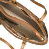 邁克爾套餐大手提包Michael Michael Kors 30H7GV6T9L Voyager Crossgrain Leather Tote(Acorn)皮革大手提包(棕色派)Voyager East West Tote新作品正規的物品redisubaggutoto通勤上學