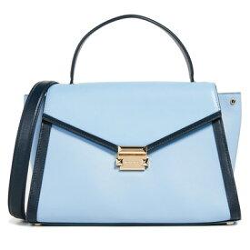 288b5260c9b6 マイケルコース 2WAYバッグ 30T8SXIS3T Michael Michael Kors Whitney Large Leather  Satchel (Blue)WHITNEY ラージ サッチェル (パールブルー/アドミラル) 新作 正規 ...