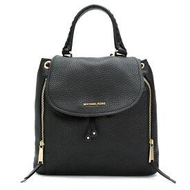 マイケルコース バックパック 30F6GVBB3L Michael Michael Kors Viv Large Leather Backpack (Black) VIV ラージ バックパック (ブラック) 新作 正規品 アメリカ買付 レディース バッグ リュック リュックサック