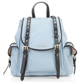 マイケルコース バックパック Michael Michael Kors Leila Nylon Medium Flap Backpack (Pale Blue) ナイロン ミディアム フラップ バックパック (ペールブルー) 新作 正規品 レディース バッグ リュック リュックサック