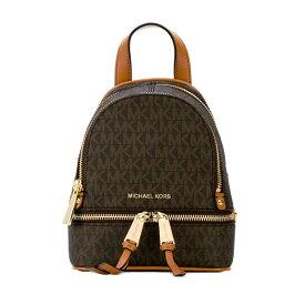 マイケルコース バックパック Michael Michael Kors 30S7GEZB1VRhea Mini Logo Backpack (BROWN) リア ミニ ロゴ バックパック (ブラウン) 新作 正規品 レディース バッグ リュック リュックサック ミニバッグ クロスボディ ショルダーバッグ