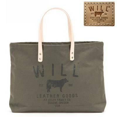 ウィルレザーグッズ Will Leather Goods トートバッグSmall Classic Tote(Olive)スモール クラシック トート(オリーブ) 新作 正規品 アメリカ買付 USA直輸入
