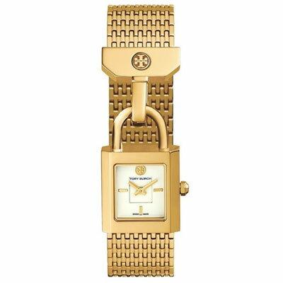 トリーバーチ 腕時計 Tory Burch Surrey Watch, 21mm (Gold) サリー ブレスレット 腕時計 (ゴールド) 新作 正規品 USA直輸入 アメリカ買付 レディース ジュエリー ウォッチ 時計 ギフト プレゼント
