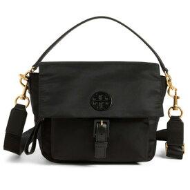 10c900dcc1df トリーバーチ ショルダーバッグ Tory Burch Tilda Nylon Crossbody Bag (Black) ナイロン クロスボディバッグ
