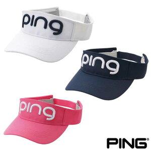 ピンゴルフ PING HW-L202 レディース ツアー バイザー 35347 pingロゴ 2020年