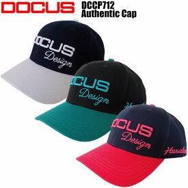 ドゥーカス DOCUS DCCP712 Authentic Cap 帽子 ゴルフキャップ アスレチック キャップ