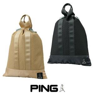 ピン ゴルフ PING GB-U214 ユーティリティメッシュポーチ 35529 シューズケース