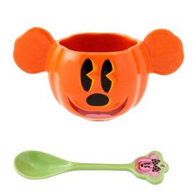 東京ディズニーリゾート ディズニー ハロウィーン 2017 TRICKS&TREATS!かぼちゃとおばけのたのしいグッズ! ミッキーマウス スープボウル 無料ギフトラッピング TDR ミッキー おみやげ お土産 ハロウィン スープカップ ボウル