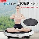 【2年保証】HZDMJ 2021新型 EMS ブルブル 振動マシン 3d 振動マシーン 健康ダイエットマシン ぶるぶるマシン 室内ダイ…