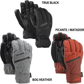 BURTON(伯頓)MENS GORE-TEX UNDER GLOVE戈爾紡績品下面手套單板滑雪連指手套手套2017型號