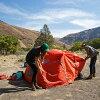 形露營東西 (極) 兩人帳篷帳篷露營節戶外 2 人
