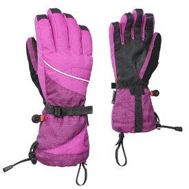 KOMBI (コンビ)59582 La Championne Ladies Glove1478 Purple Wine-Purple Heathr レディース グローブ スノーボード スキー サイズ-S