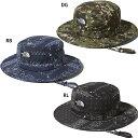 THE NORTH FACE(ザ ノースフェイス)NN01708 NOVELTY HORIZON HAT ノベルティホライズンハット 帽子 UV レイン 通勤通学