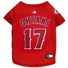 MLB LAロサンゼルスエンゼルス 大谷翔平名前入り 犬用Tシャツ